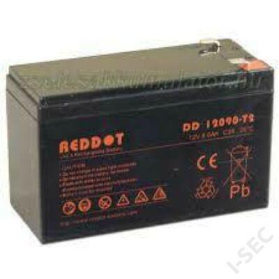 Reddot 12V 12Ah T1/2 akkumulátor