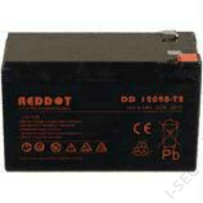 Reddot 12V 9Ah T2 széles sarus  akkumulátor