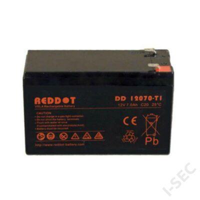 Reddot 12V 7Ah T2 akkumulátor