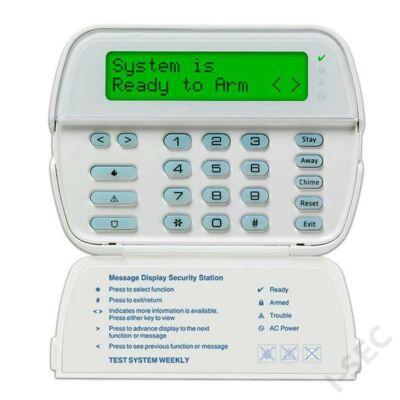 DSC kezelő (LCD) + vevő RFK5500