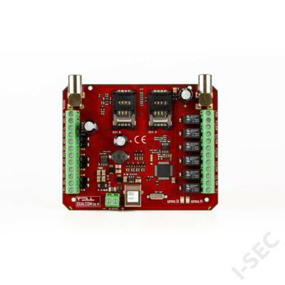 GSM TELL Dualcom SIA IP (x2 SIM)