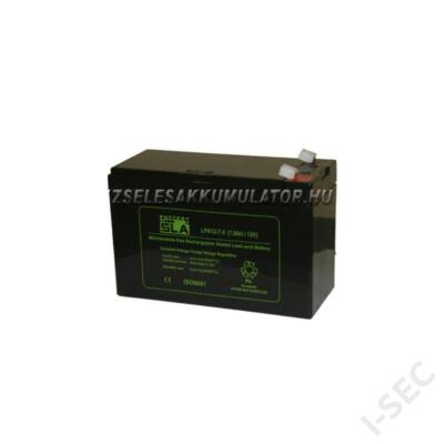 APC 12V 7Ah akkumulátor, széles sarus