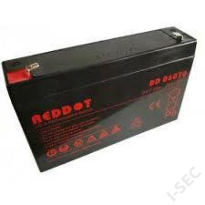 Reddot 6V 1.2Ah akkumulátor