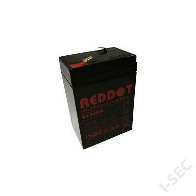 Reddot 6V 4Ah akkumulátor