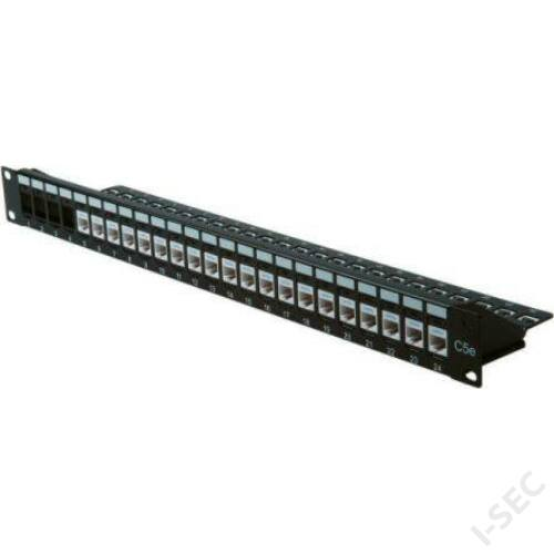 Cat5e UTP 24port patch panel