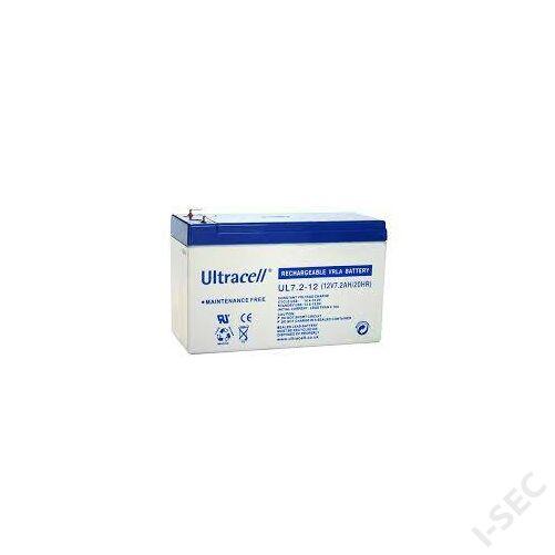 Ultracell akkumulátor 12V, 7Ah