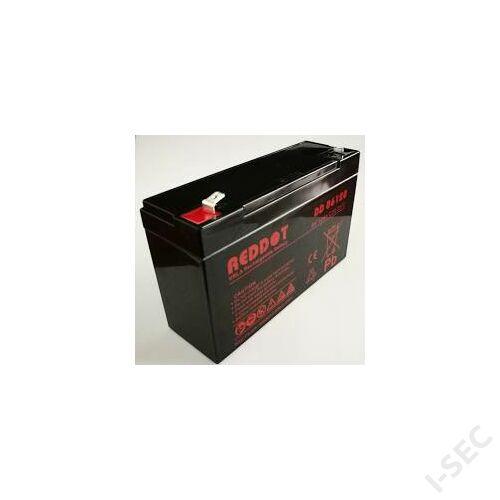 Reddot 6V 12Ah akkumulátor