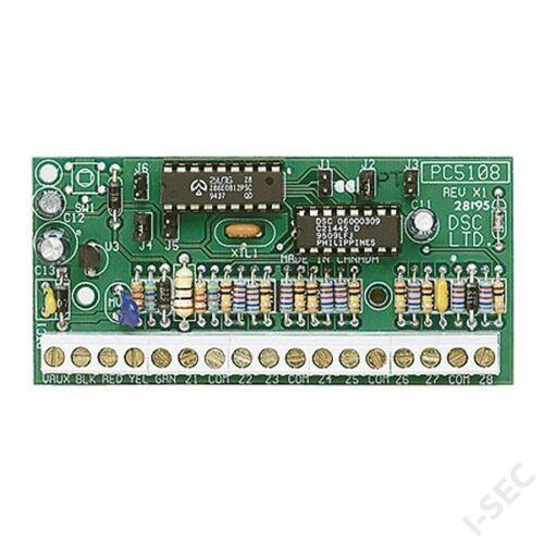 DSC zónabővítő PC5108 (8 zóna)