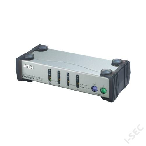 ATEN KVM kapcsoló 4 port, USB