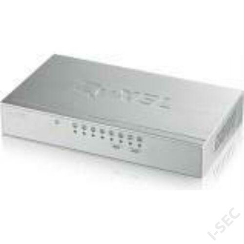 Zyxel GS108B 8 csatornás switch, fém