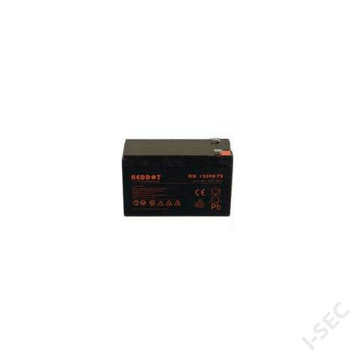 Reddot 12V 7-9Ah T2 széles sarus  akkumulátor