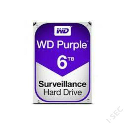 """HDD 6TB merevlemez WD Purple 3.5"""" 5400rpm 64MB SATA3 PURX-PURZ"""