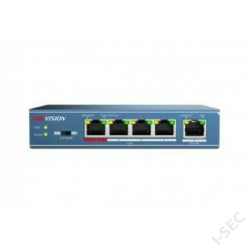 Hikvision DS-3E0105P-E 5port switch, 4 PoE, 1 uplink combo port