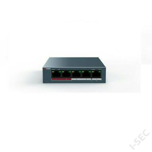 Hikvision DS-3E0105P-E/M 5port switch, 4 PoE, 1 uplink combo port