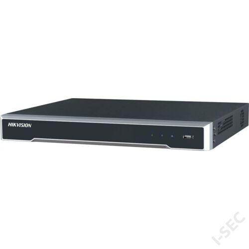 DS7616NI-K2/16P 16 csatornás NVR 160Mbps rögzítési sávszélessggel Alarm, 16xPoE