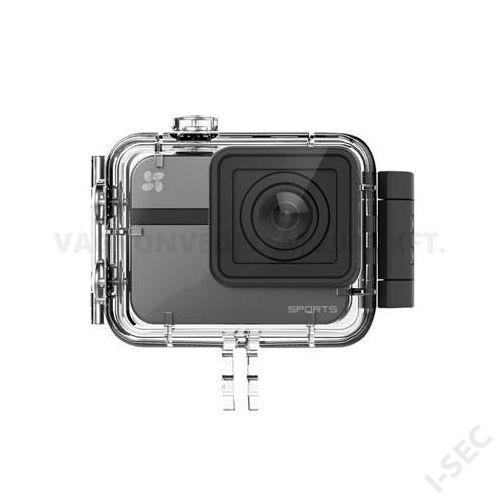 EZVIZ S1 216WFB-BLK-KIT sportkamera; vízálló ház; 16MP; Wifi, Bluetoth; GPS