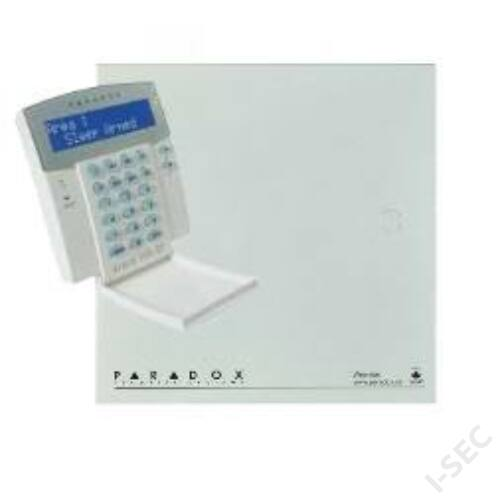 Paradox SP5500+K32+LCD+doboz+táp+tamper+zár szett