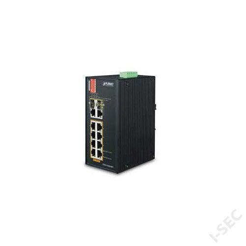 Planet IFGS-1022HPT 8-Port 10/100TX PoE + 2-Port Gigabit TP/SFP Combo switch