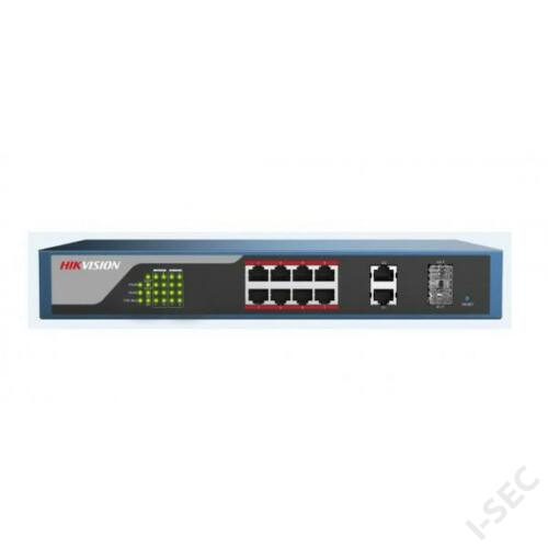 Hikvision DS3E0310HP-E  10port switch, 1+7 PoE, 2 uplink port
