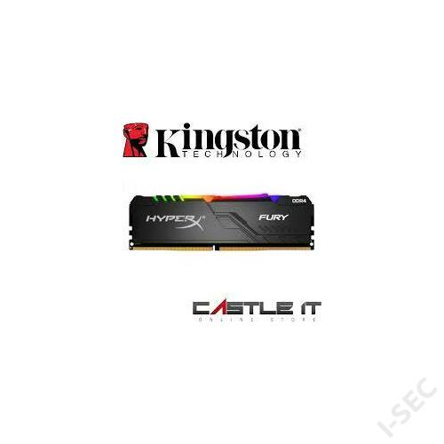 Kingston 16GB/3200MHz DDR-4 HiperX FURY RGB memória
