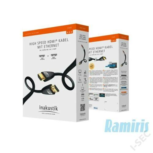 HDMI kábel 5m 00324550 Inakustic