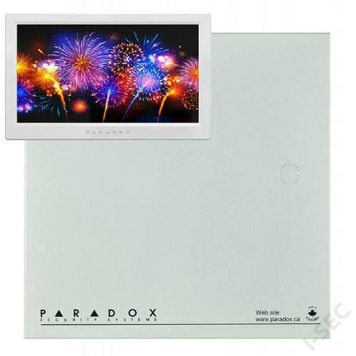 Paradox EVO HD panel + TM70 kezelő+doboz+trafó+tamper+zár szett