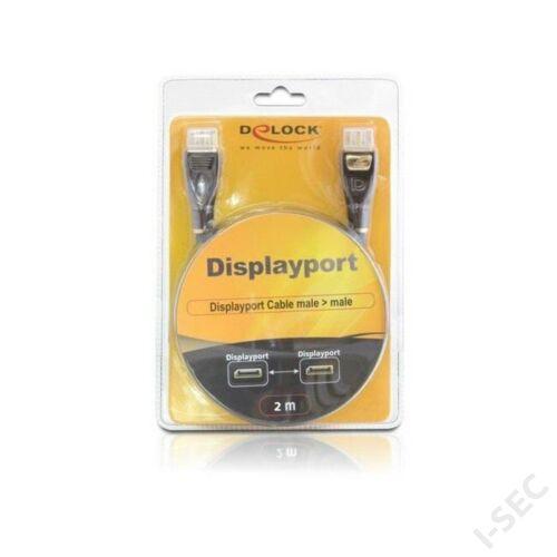 Delock DisplayPort-DisplayPort 1.2 4K 2m kábel