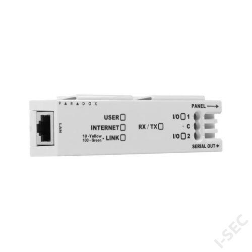 Paradox IP150+ IP modul MG, SP és EVO központ LAN-os felügyeletéhez