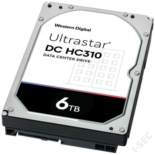 "HDD 6TB merevlemez WD Ultrastar 3.5"" 256 MB 7200rpm"