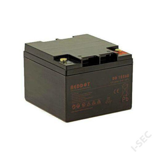 Reddot 12V 26Ah akkumulátor