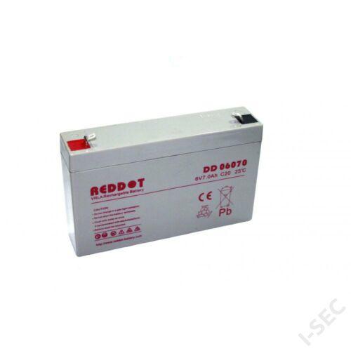 Reddot 6V 7Ah akkumulátor